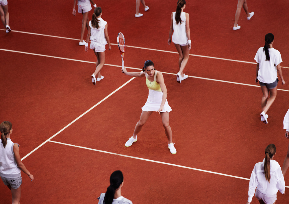 adidas tennis barricade by Stella McCartney - Anna Petkovic