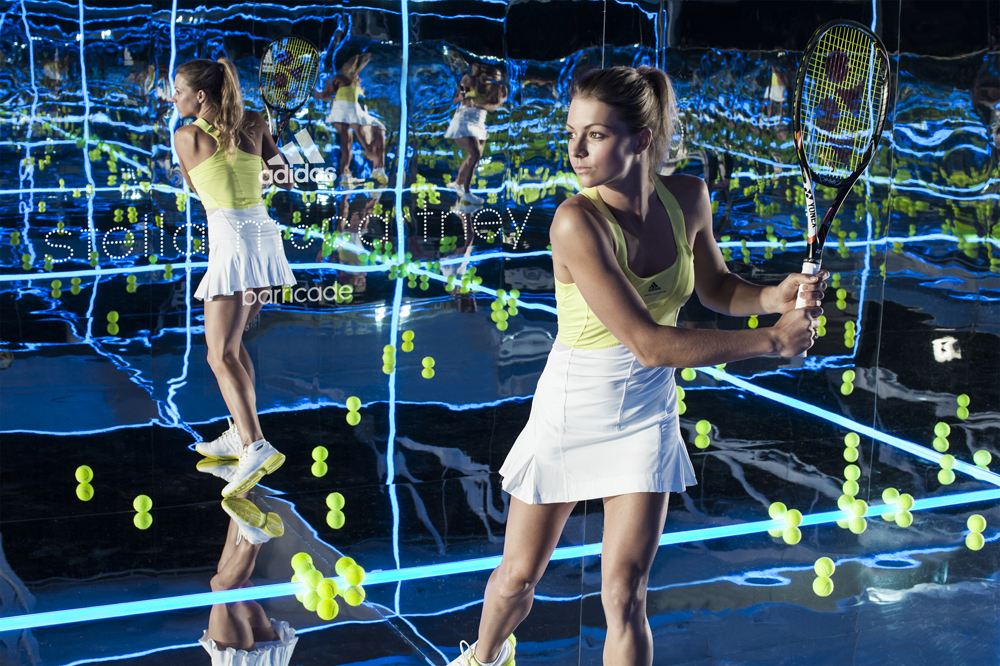 adidas tennis barricade by Stella McCartney - Caroline Wozniacki