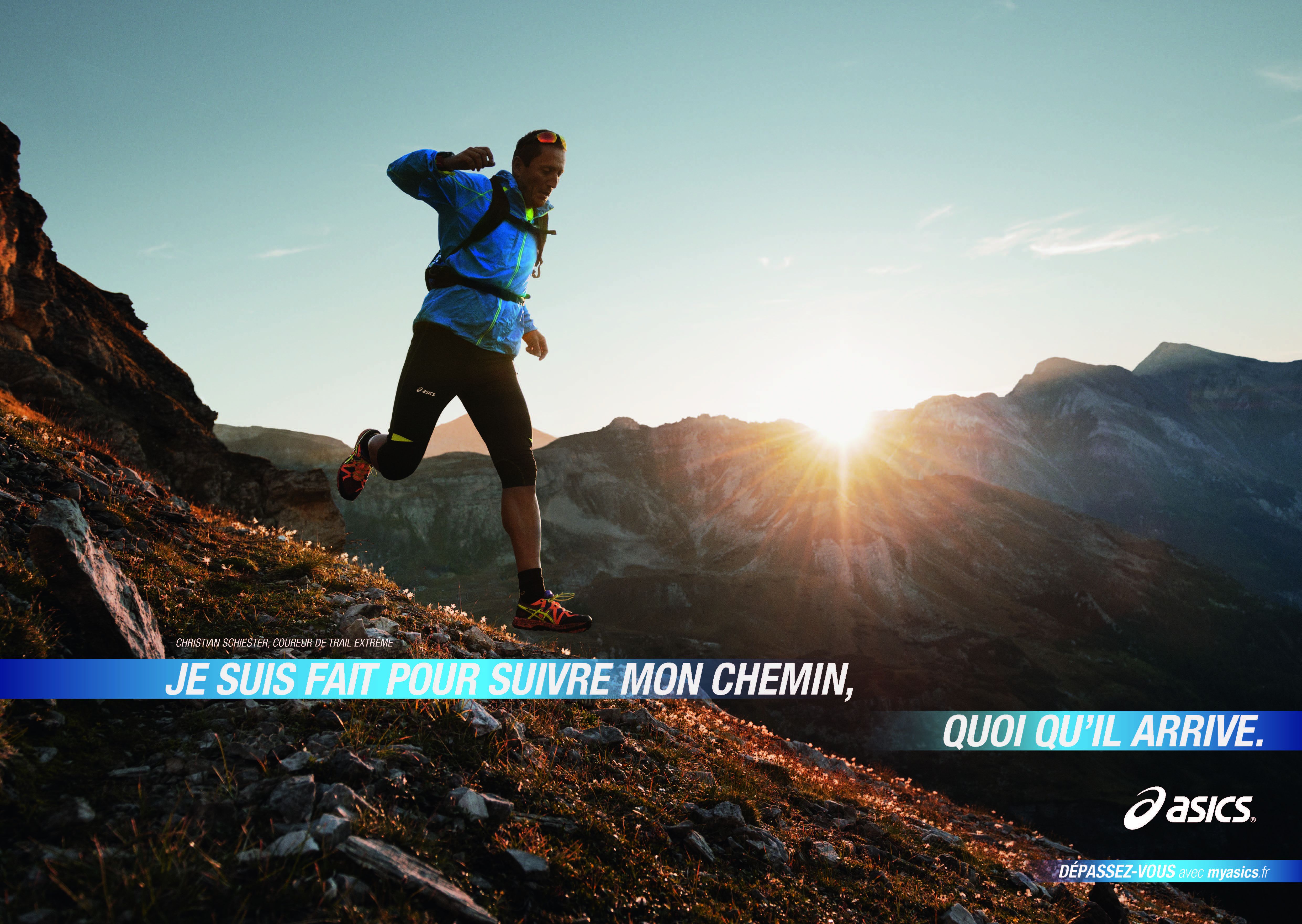 ASICS lance sa nouvelle campagne, Journey of Improvement