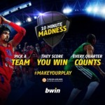 """10 Minute Madness"", le jeu interactif digital de bwin pour l'EuroLeague"