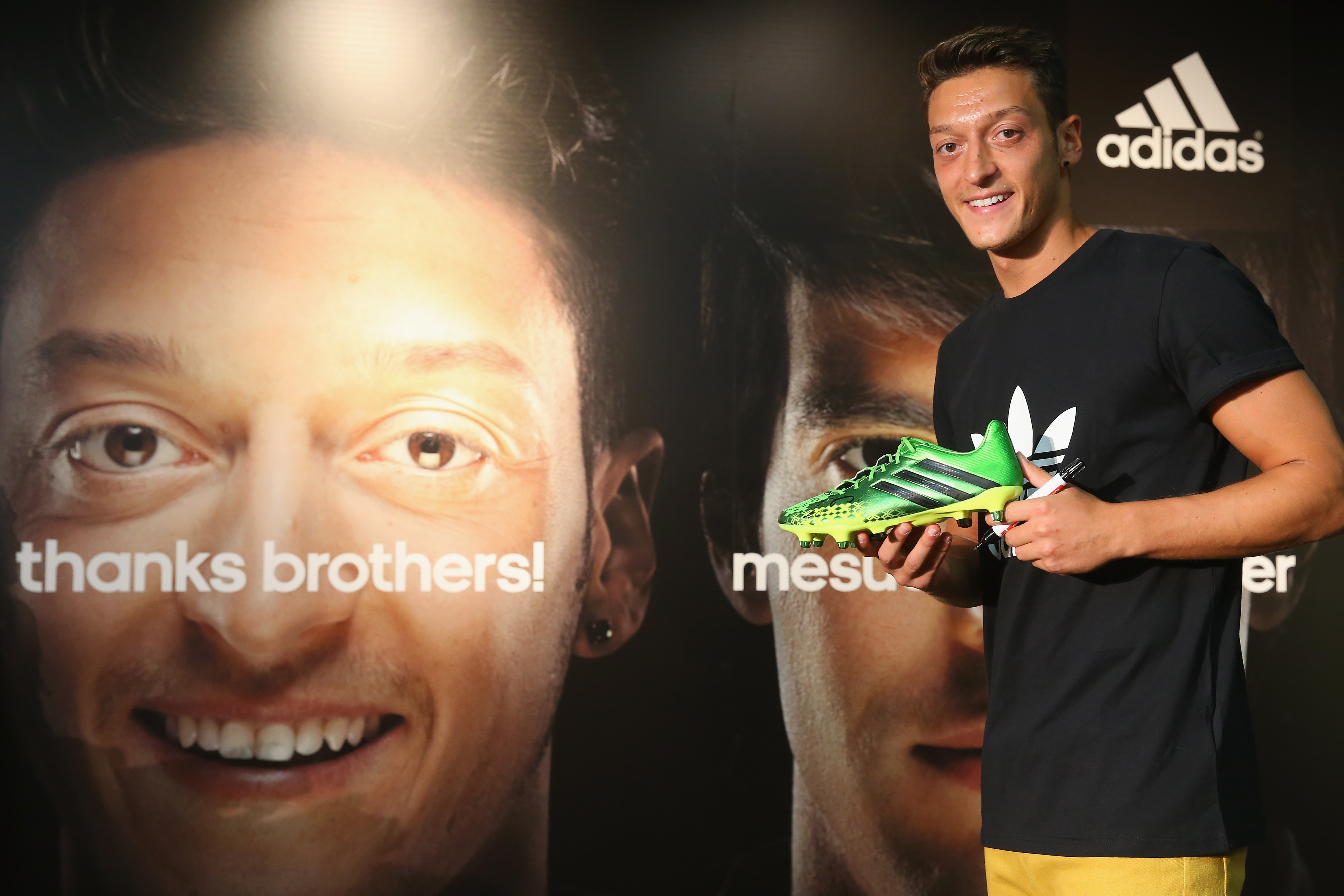 Mesut Oezil New Face Of Adidas