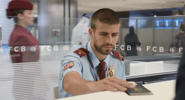 qatar-airways-FC-Barcelone-piqué-commercial-publicité