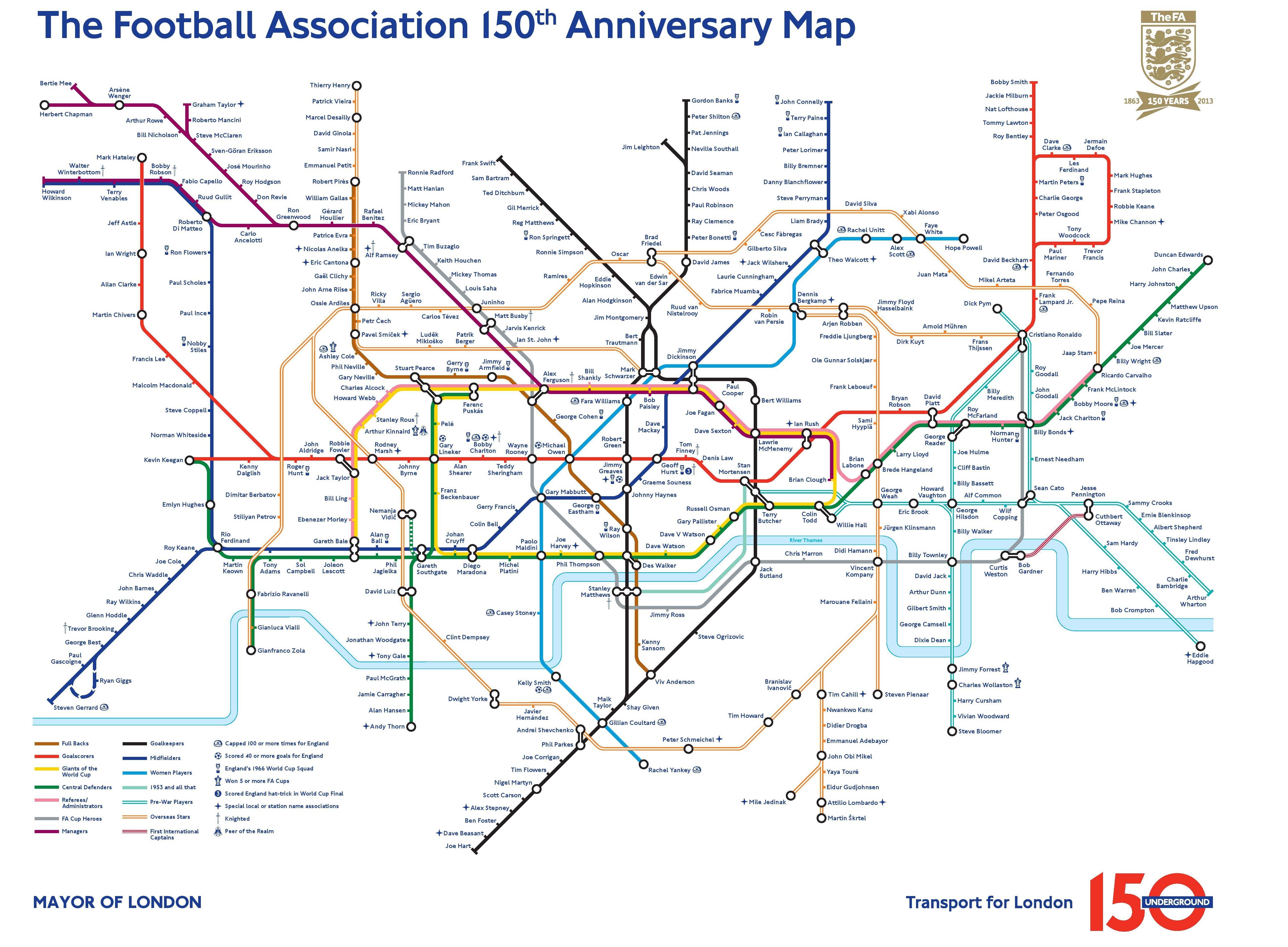 Football Association - Anniversaire 150 ans