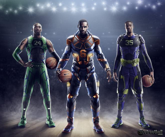 Nike Basketball Kobe Bryant LeBron James Kevin Durant
