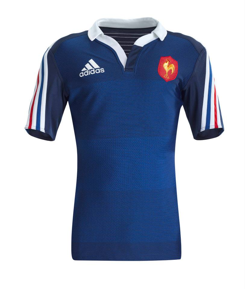 adidas d voile le nouveau maillot de l 39 quipe de france de rugby. Black Bedroom Furniture Sets. Home Design Ideas