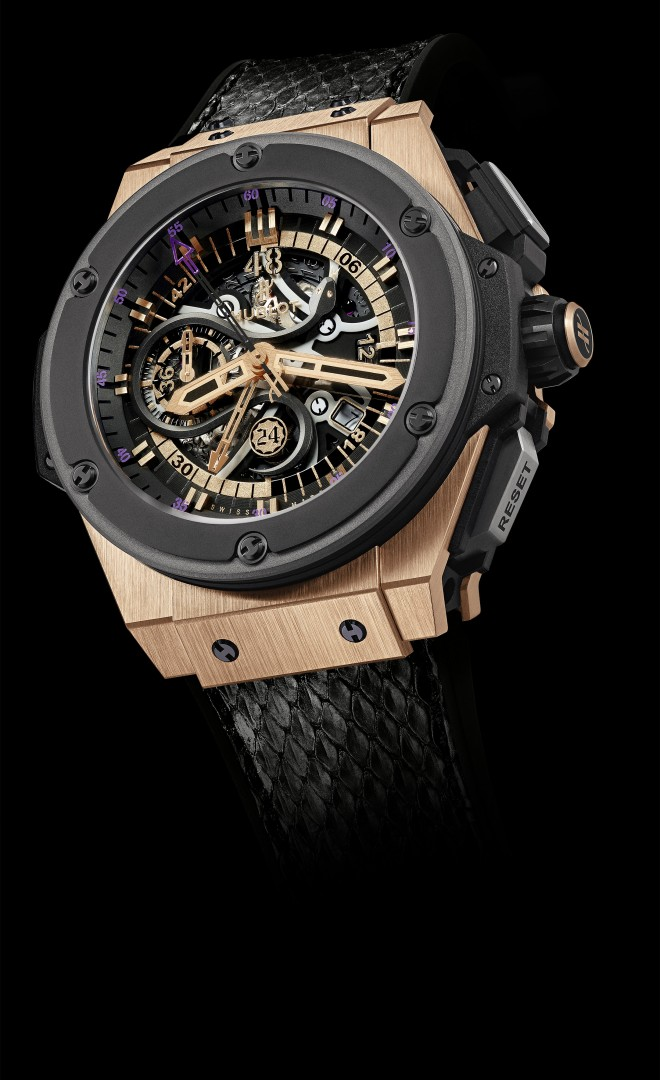 Hublot & Kobe Bryant - King Power Black Mamba King Gold