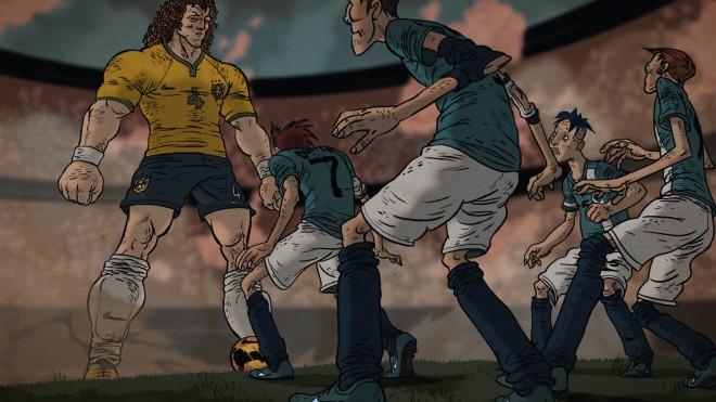 Ose être Brésilien - David Luiz