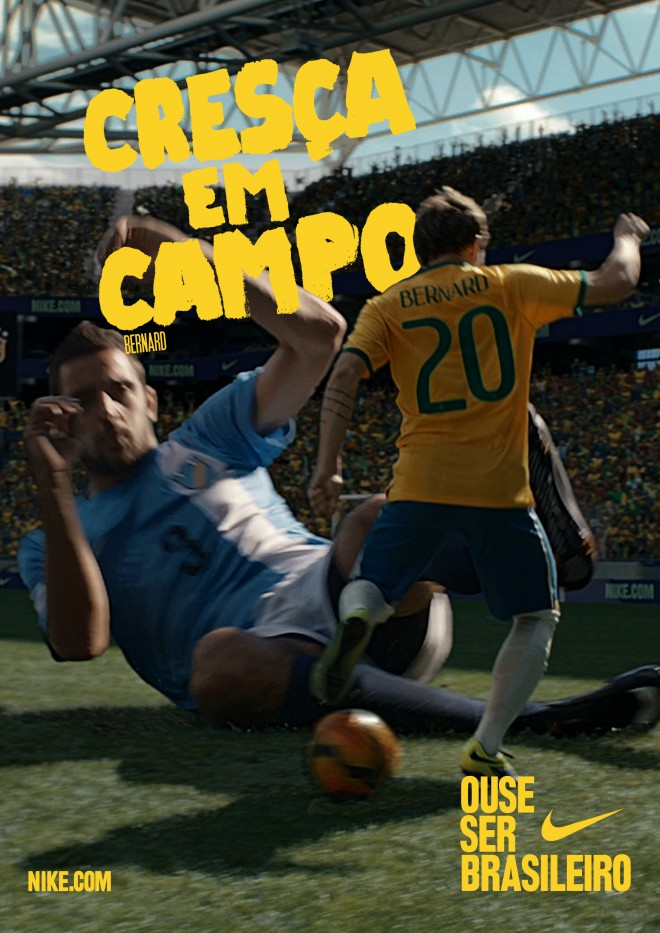 Ose être Brésilien - Poster - Bernard