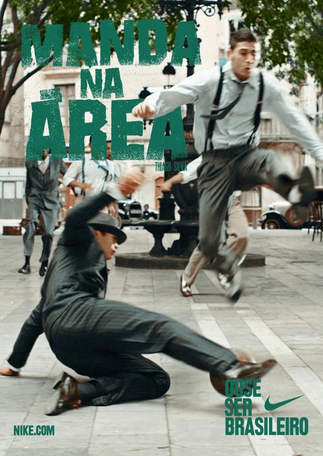 Ose être Brésilien - Poster - Thiago Silva