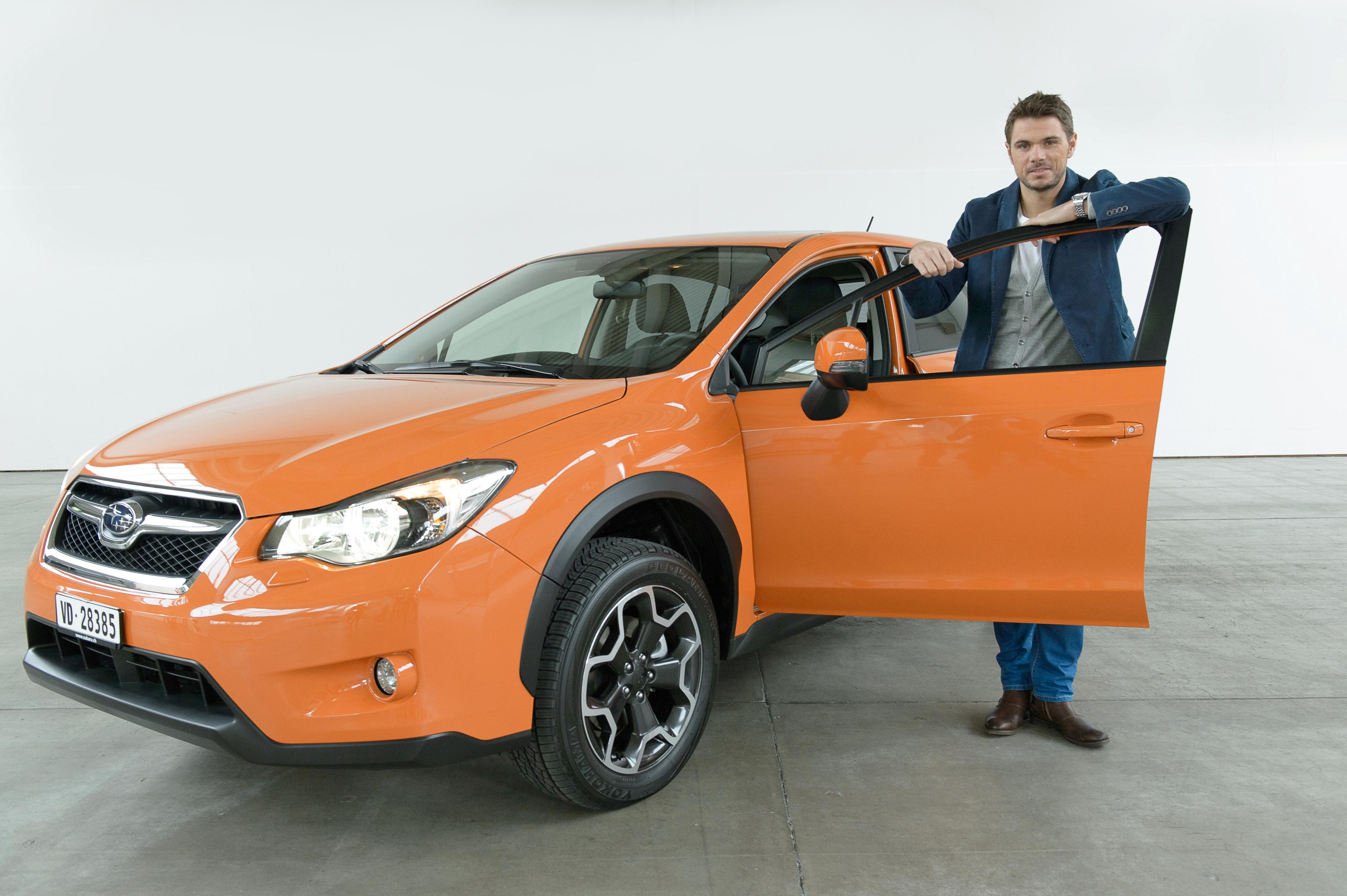 Stan Wawrinka et le pionnier de la traction intégrale Subaru ont conclu un partenariat