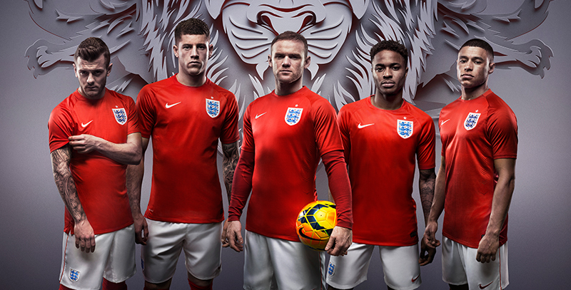 Maillot equipe de Angleterre nouvelle