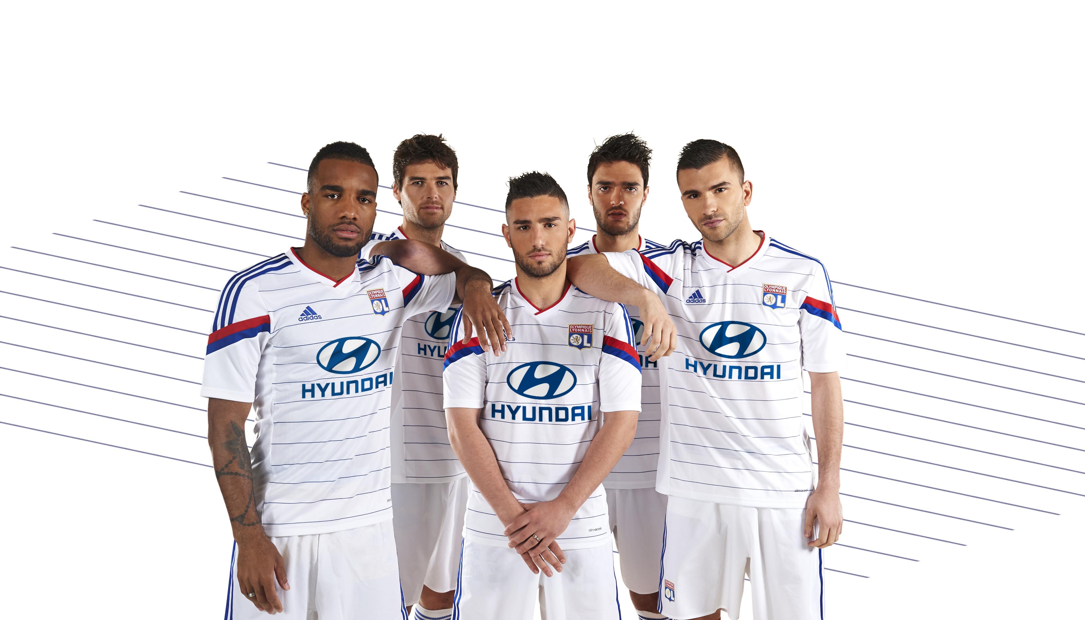 Maillot Extérieur Olympique Lyonnais Jordan FERRI