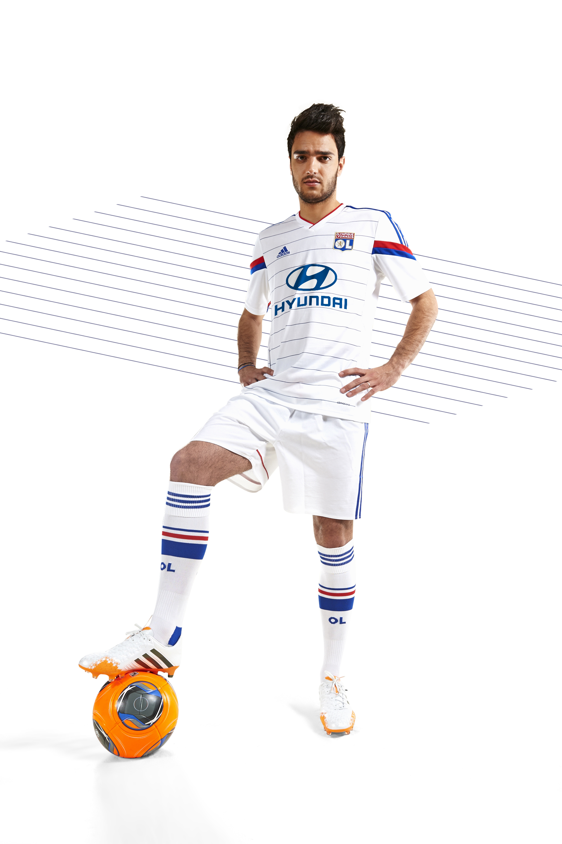 Maillot Domicile Olympique Lyonnais Jordan FERRI