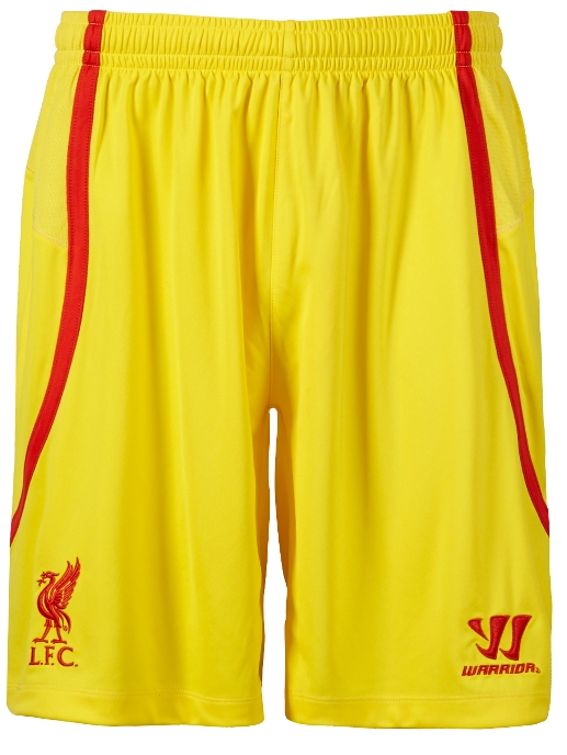Liverpool Away Shorts 14/15 Warrior