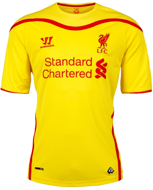 Liverpool Away Shirt 14/15 Warrior