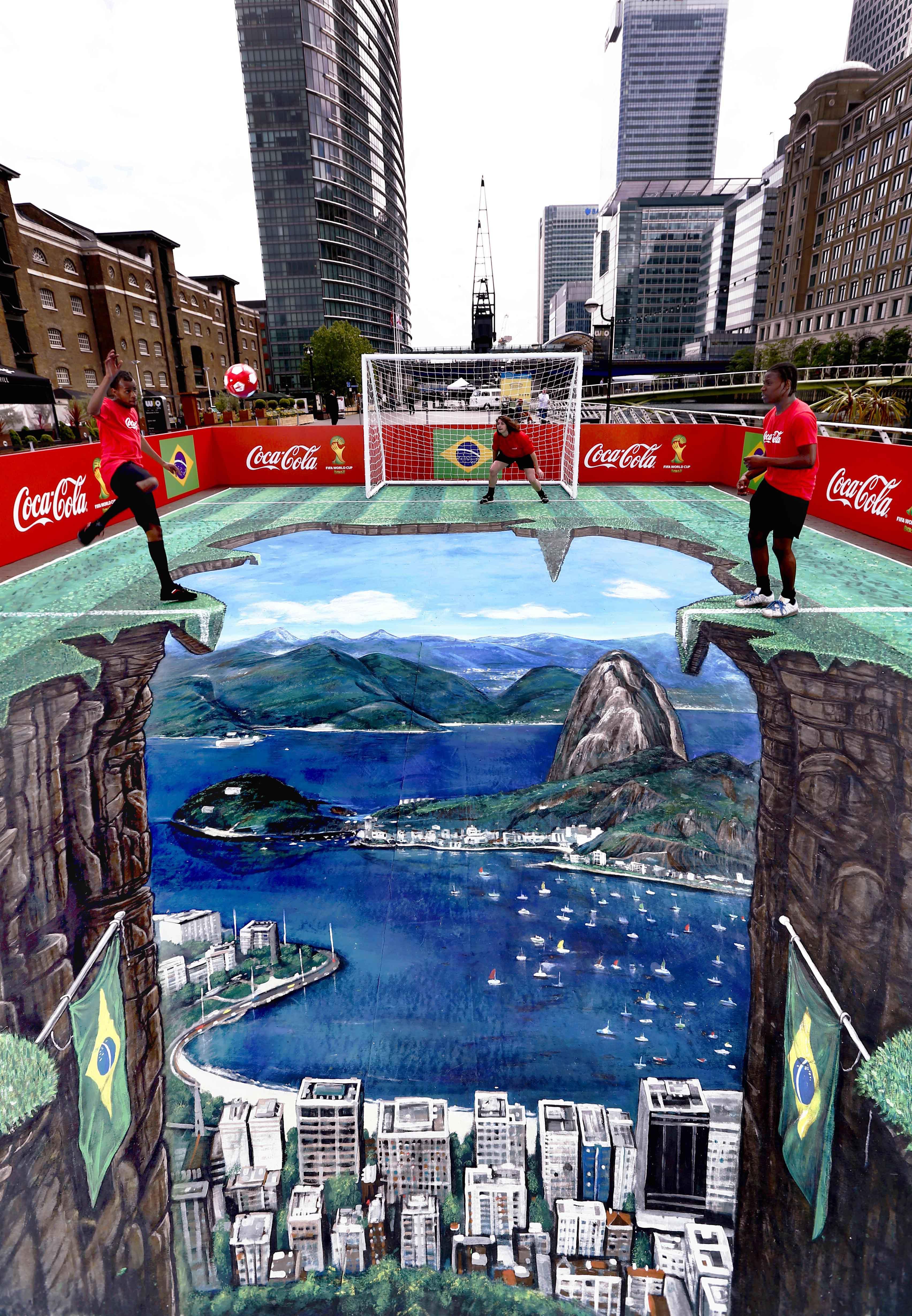 NWEN CocaCola 3d street art_1
