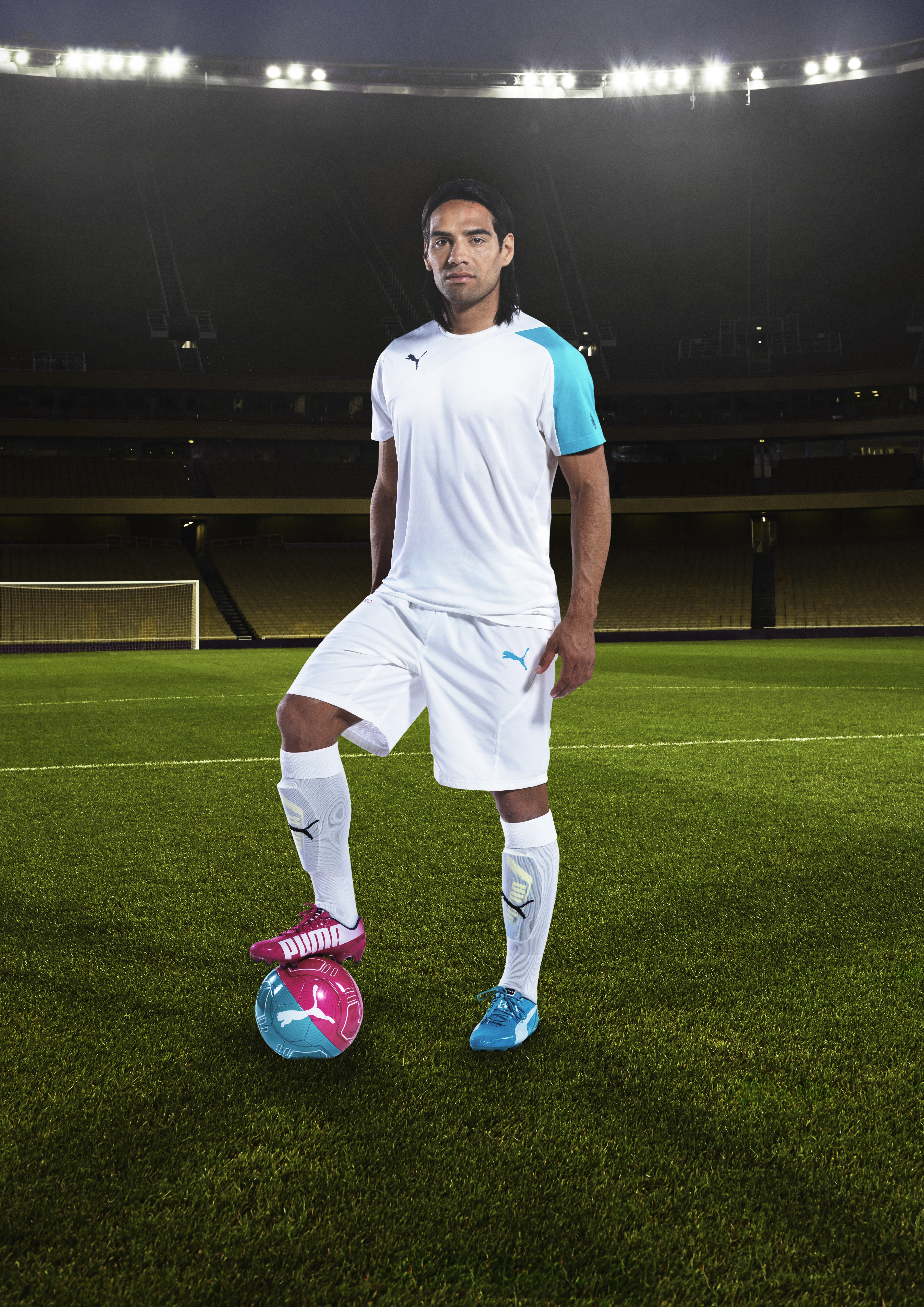 Falcao's recovery was spurred by his self belief. In Brazil he will wear the PUMA evoSPEED Tricks boot