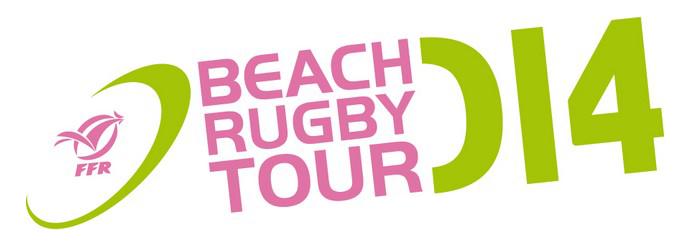logo beach rugby tour