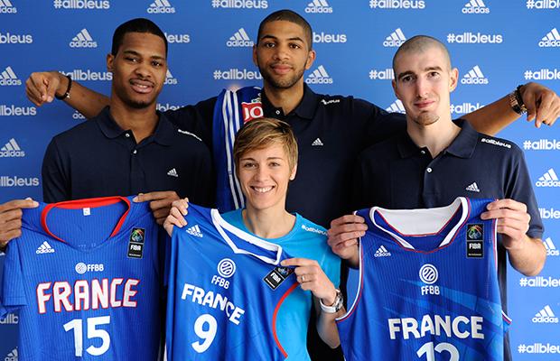maillot basket adidas france