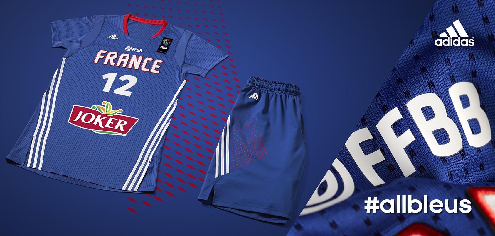 60d82f5296c56 L'Equipe de France de Basket-ball dévoile son maillot #allbleus ...