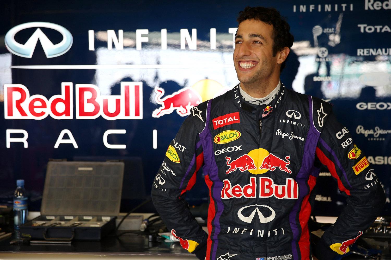 daniel ricciardo red bull racing 2014