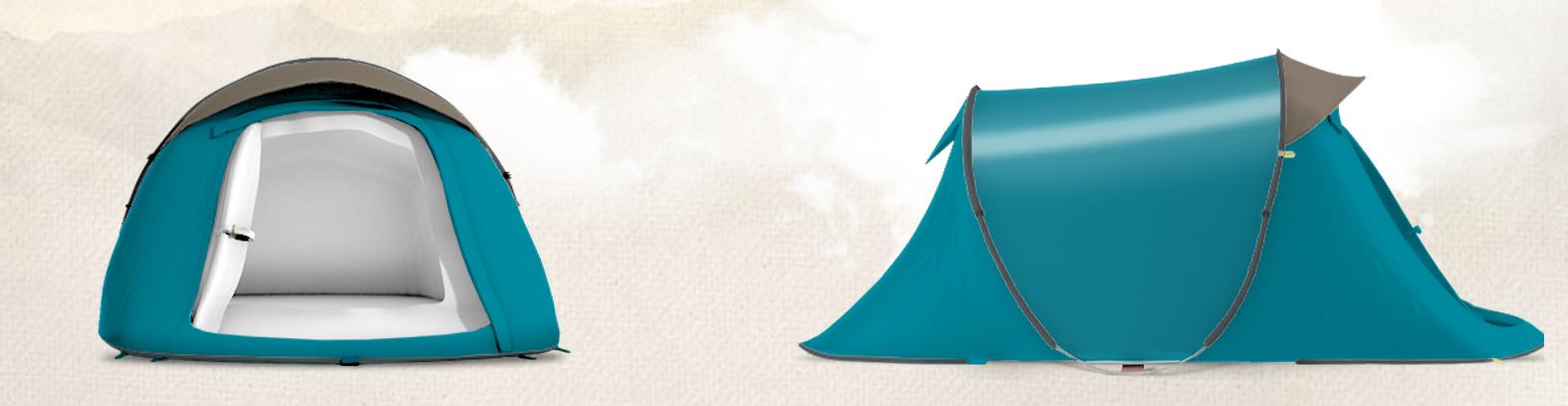 personnalisez votre tente quechua avec my2seconds sports marketing. Black Bedroom Furniture Sets. Home Design Ideas