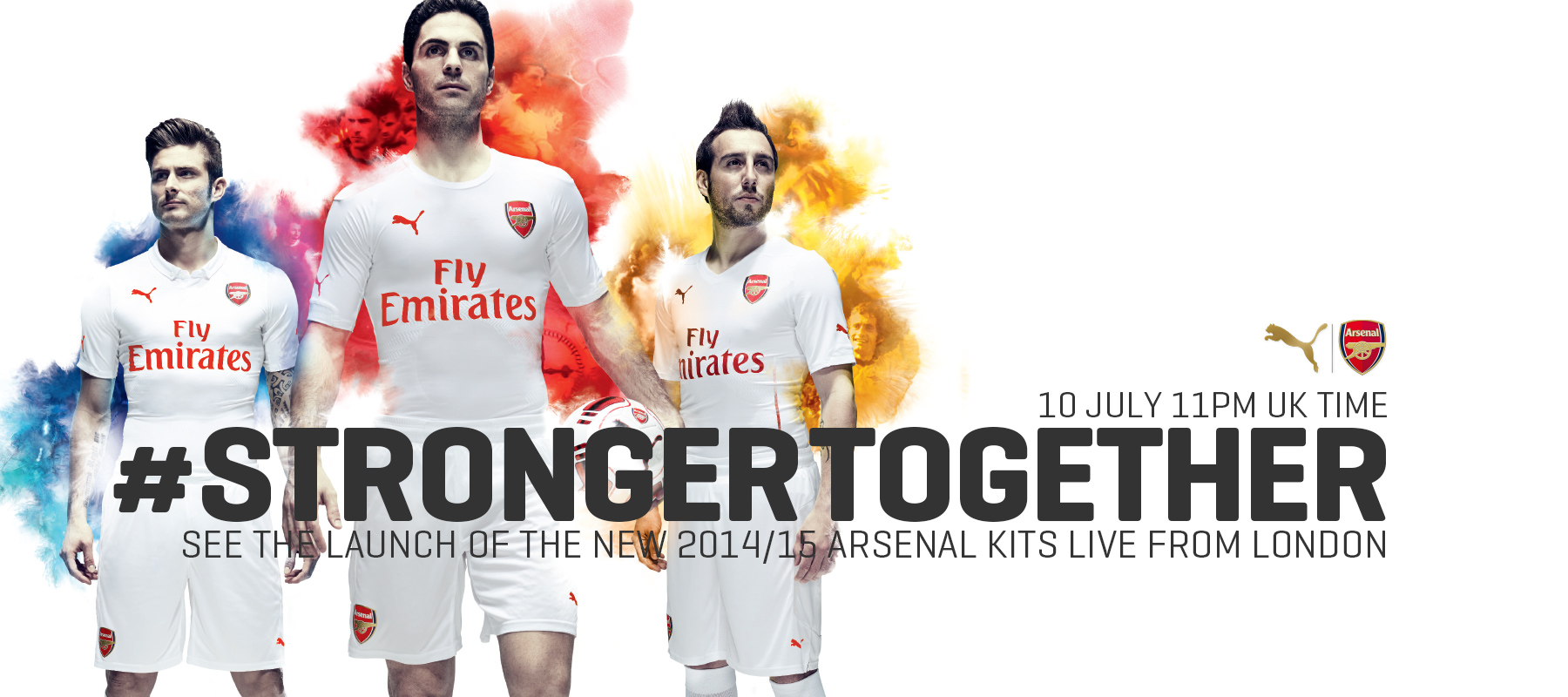 PUMA - Stronger Together - Arsenal