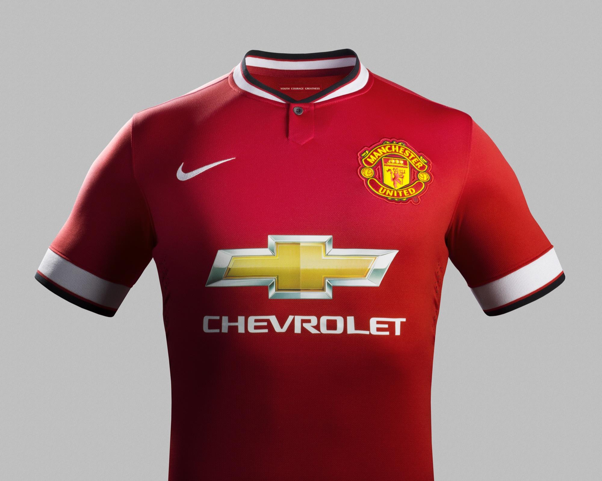 Manchester united et chevrolet le sponsor de la discorde for Manchester united shirt sponsor
