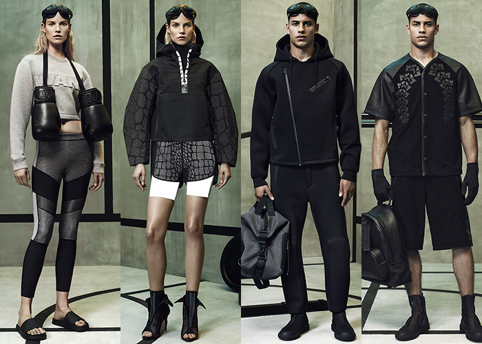 alexander-wang-x-hm-lookbook-collage