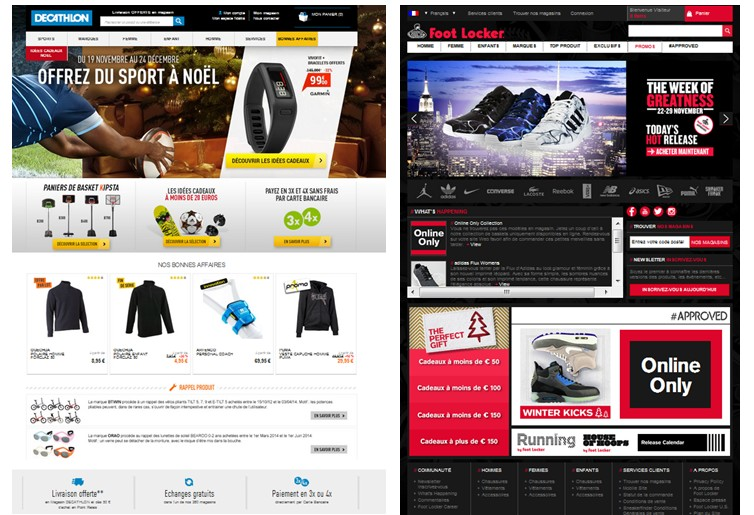 site decat et foot locker