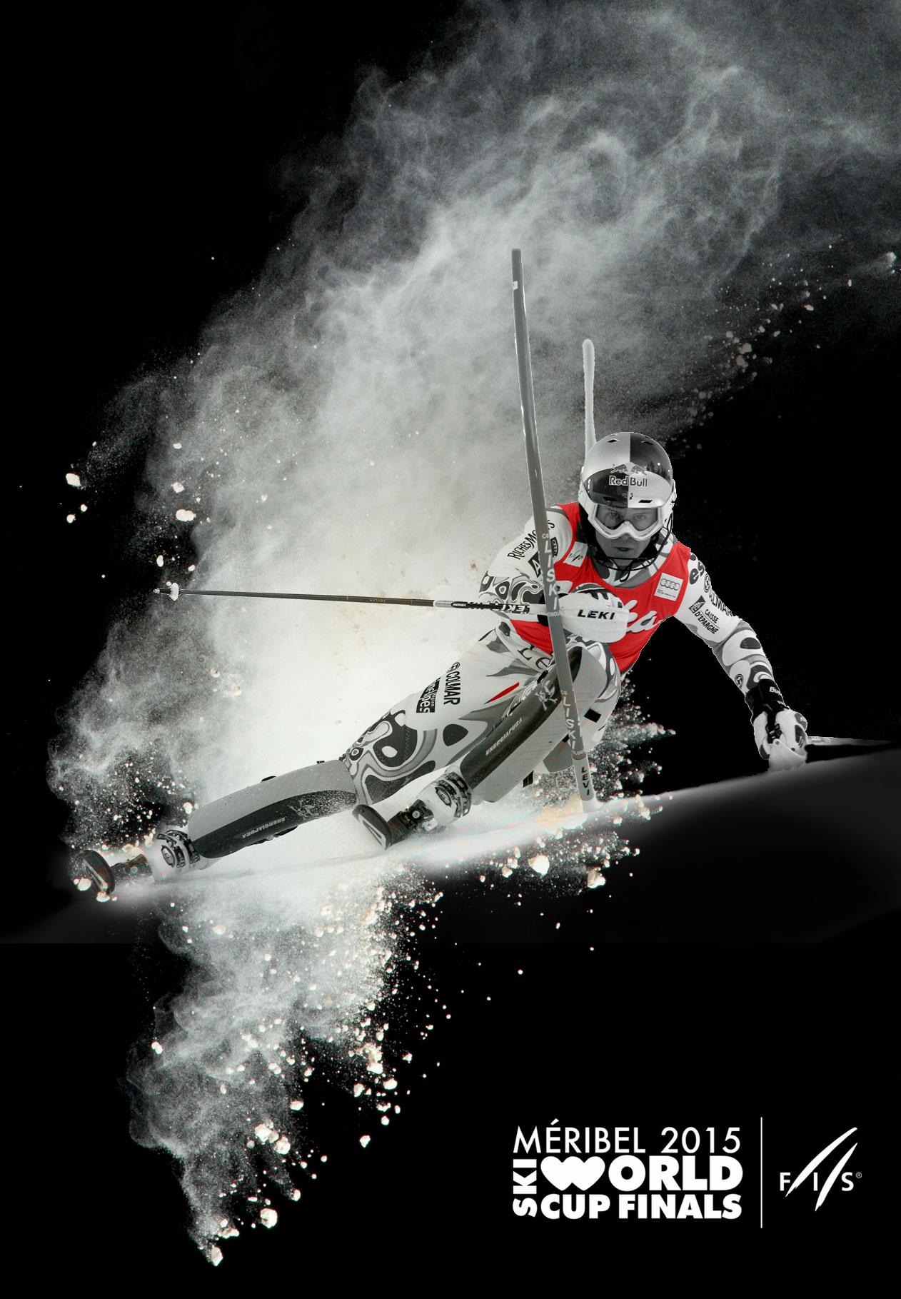 affiche meribel finale coupe du monde de ski alpin 2015