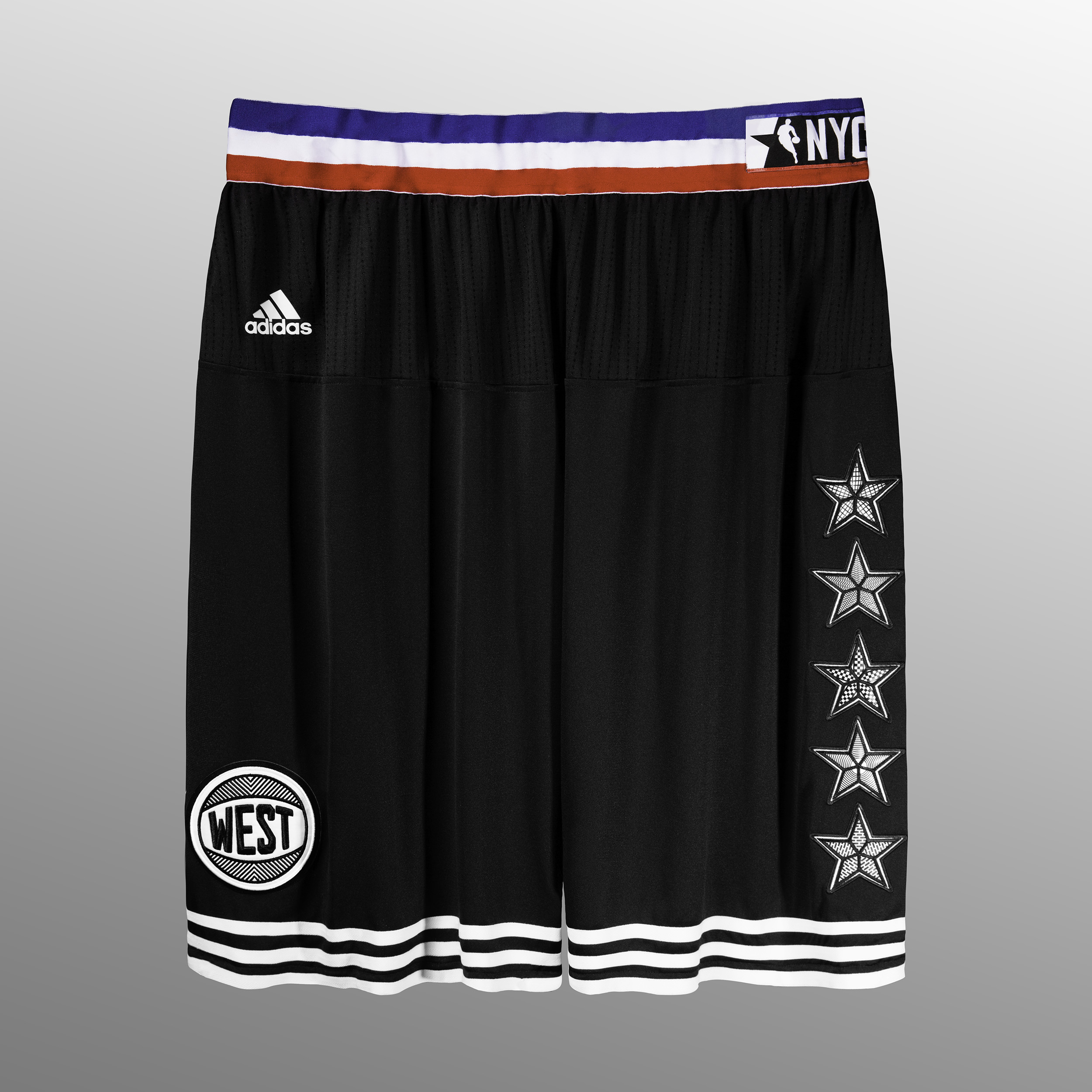 adidas NBA All-Star West Short, Sq
