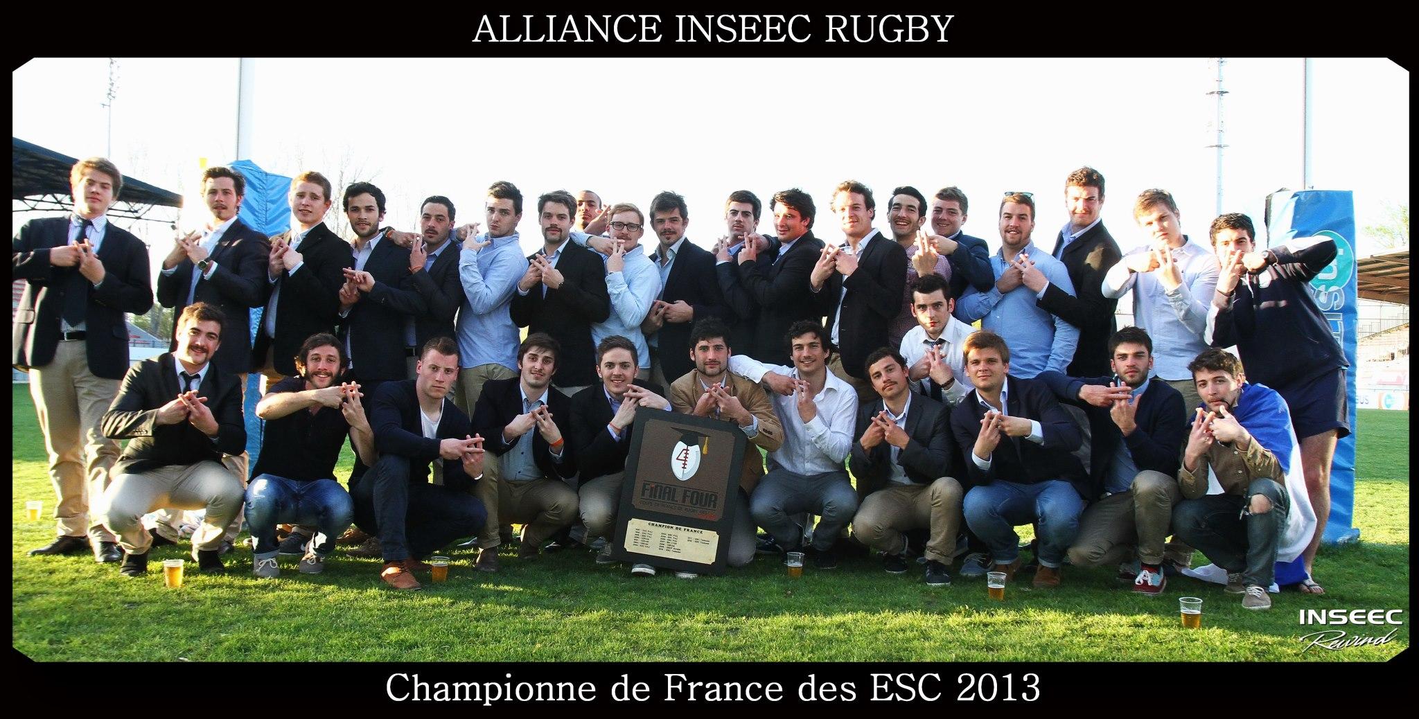 alliance-inseec-ece-championne-de-France-ESC-rugby