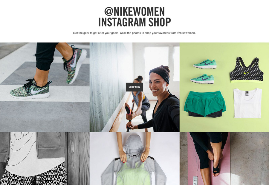 Le Nike Women Instagram Shop