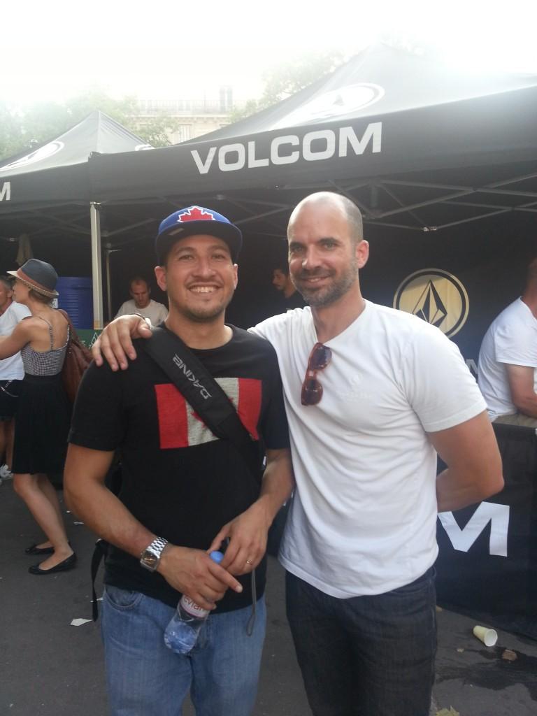 Vincent Tasteyre et Todd Hymel, CEO Kering Action Sports