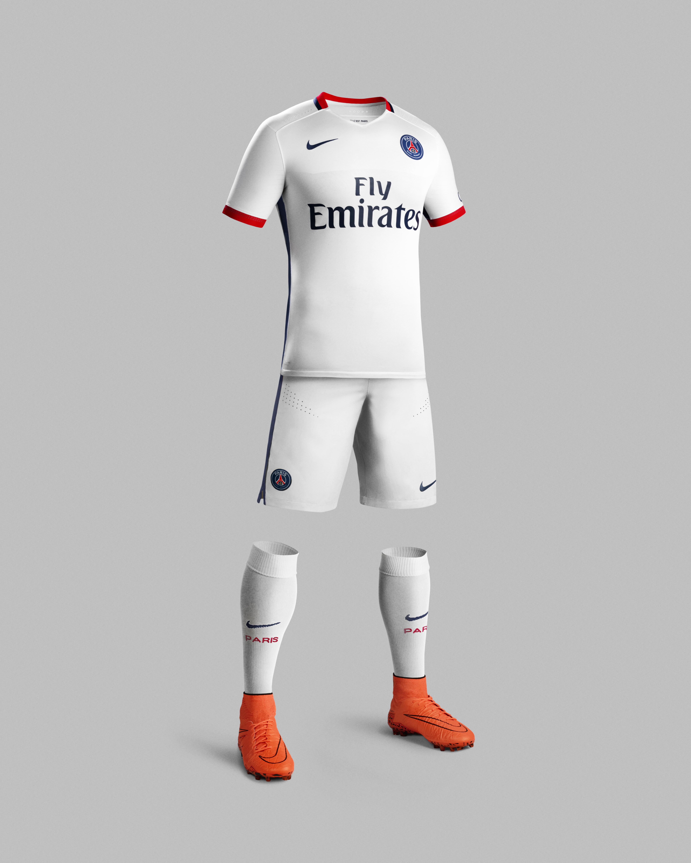 Nike dévoile le le dévoile nouveau maillot extérieur du Paris Saint Germain à d5bd5f