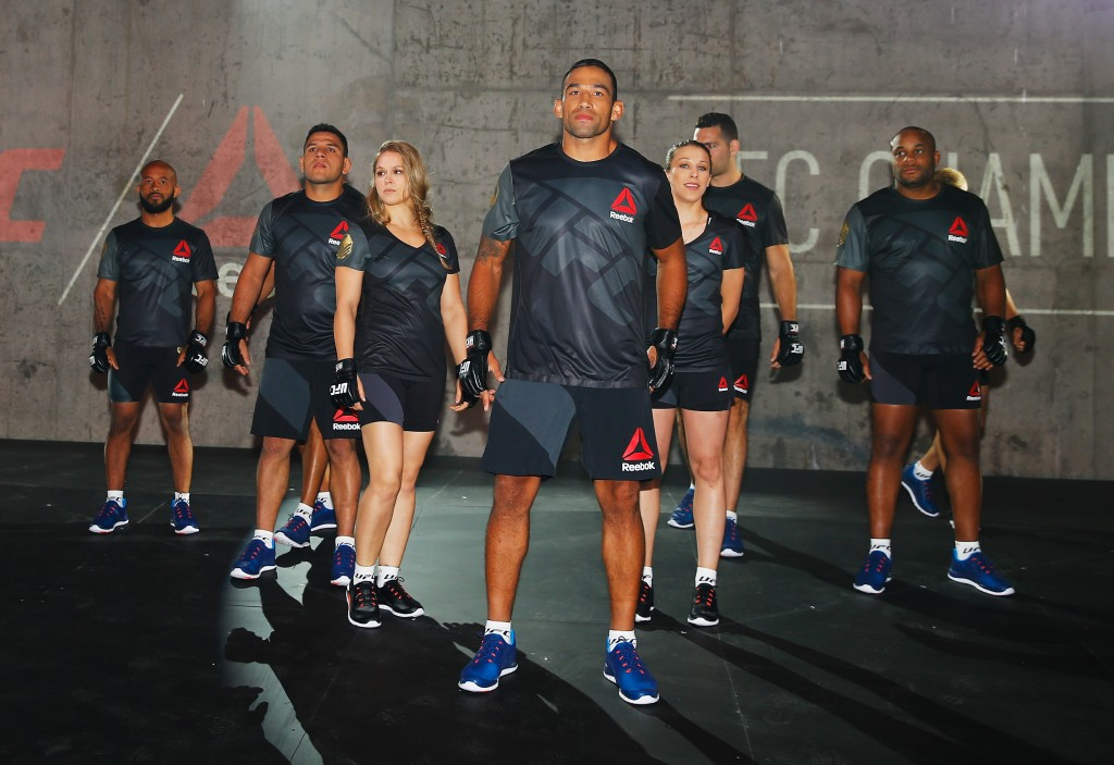 UFC Reebok Fight Kit Launch