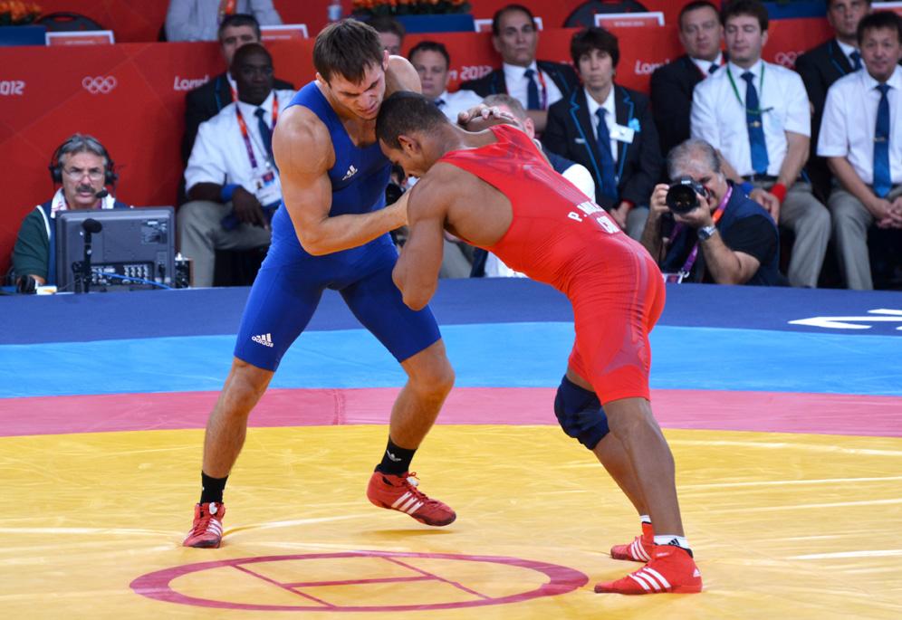 Steeve Guenot aux Jeux Olympiques de Londres 2012  © FFL