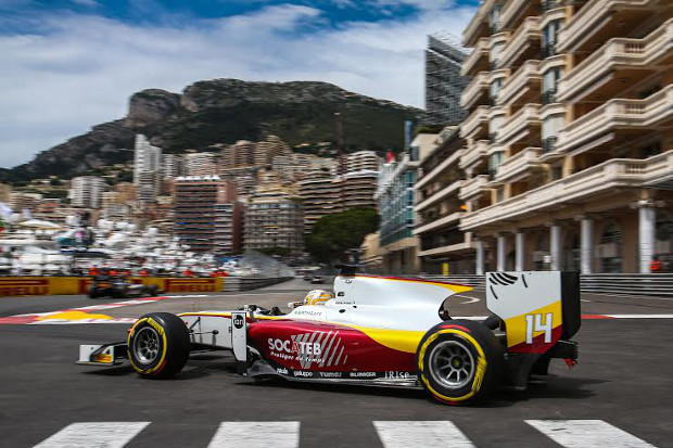 MONACO (MC) MAY 21-24-2015 - Grand Prix de Monaco 2015. Arthur Pic #14 Campos Racing. Action. © 2015 Diederik van der Laan / Dutch Photo Agency / LAT Photographic