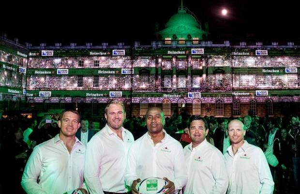 Heineken a officiellement lanc sa campagne pour la coupe du monde de rugby - Place de rugby coupe du monde ...