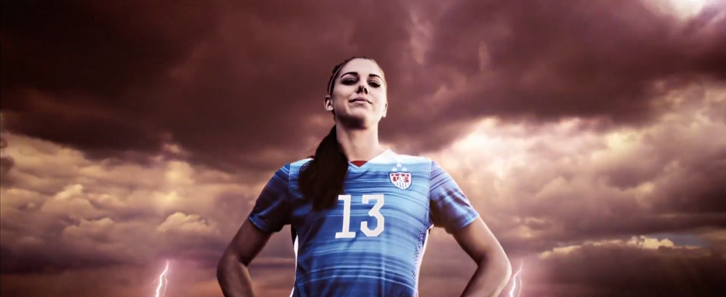 FIFA 16 - Publicite - Alex Morgan
