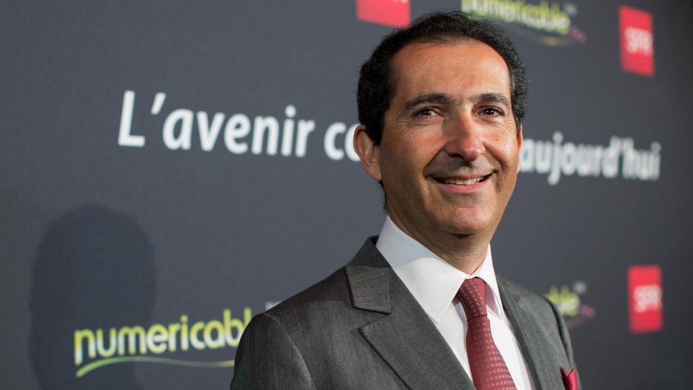 Patrick Drahi, propriétaire du groupe Altice