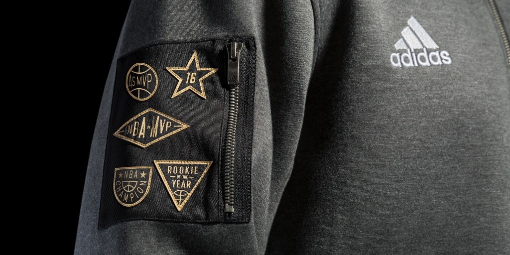 adidas-NBA All-Star Warm-Up Jacket Patch Detail H