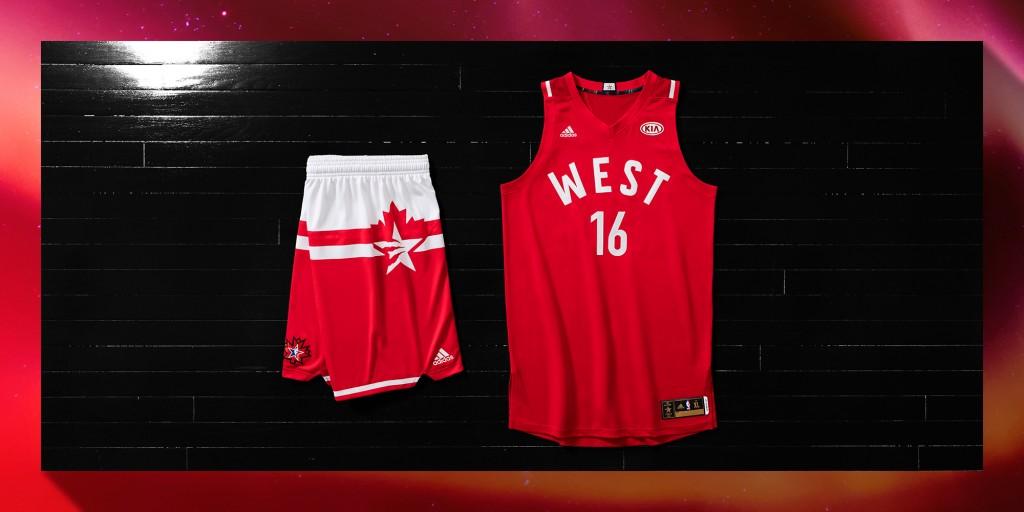 adidas-NBA All-Star West 2 Laydown, H