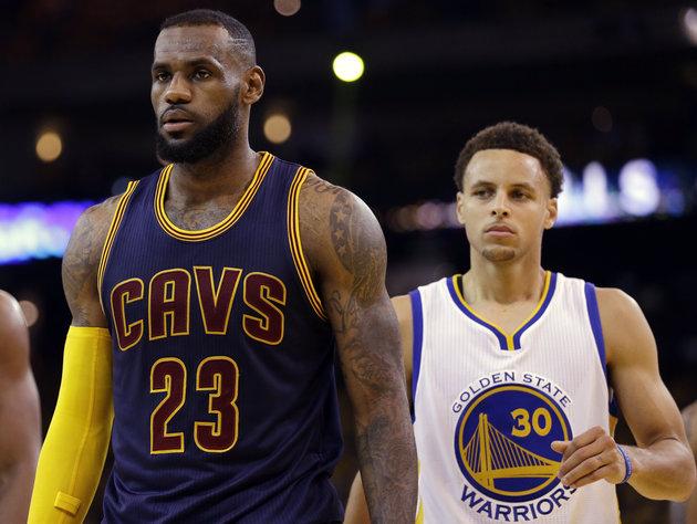 NBA Christmas Day - LeBron James Stephen Curry