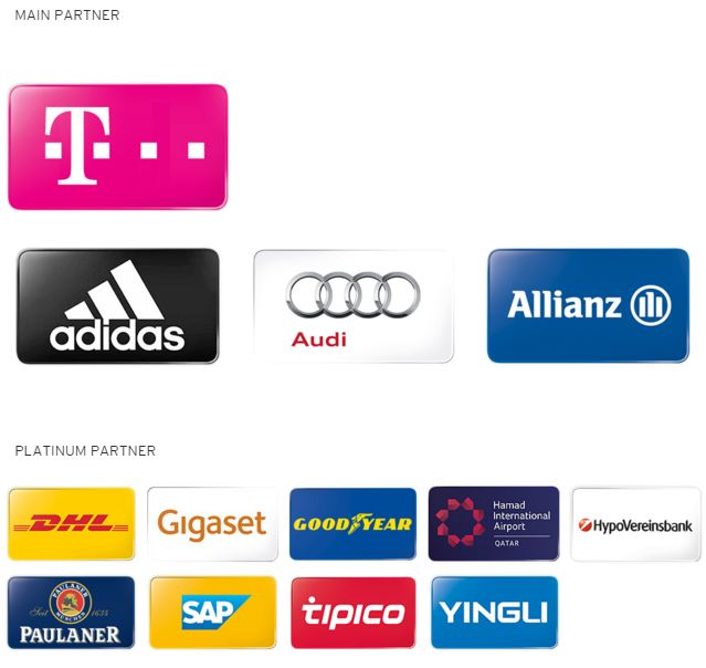 Bayern Munich's Partners