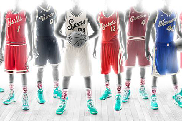 NBA Christmas Day Jerseys