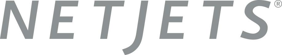 NetJets logo - Maria Sharapova