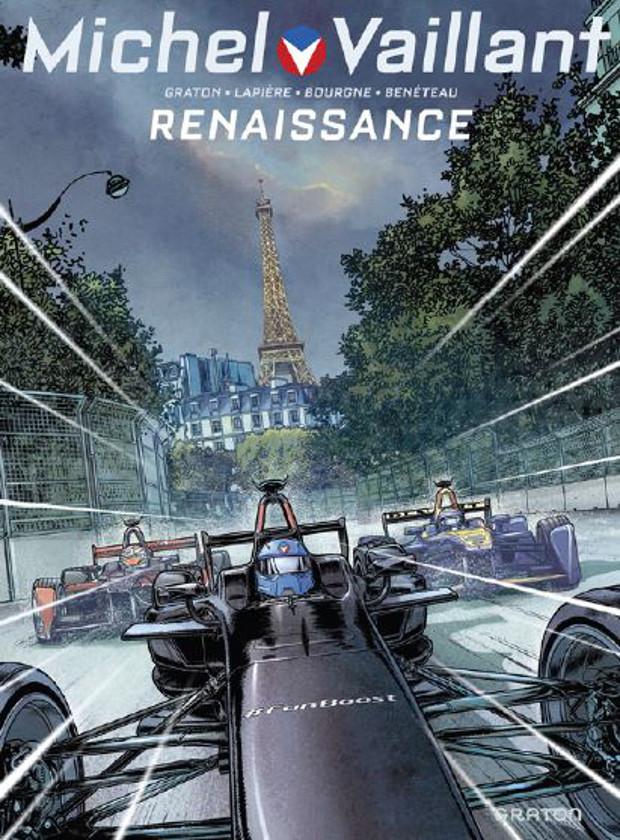 Michel Vaillant BD Formule E Paris