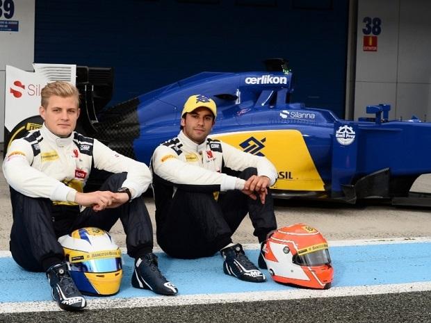 Marcus Ericsson et Felipe Nasr